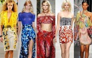 Мода Весна Лето 1009
