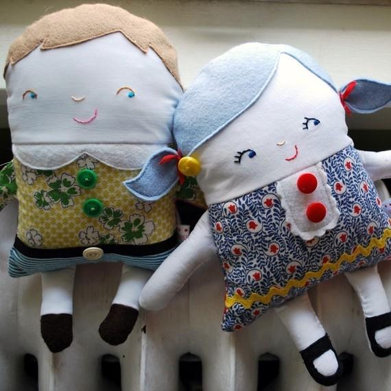 Своими руками игрушки для детей из ткани