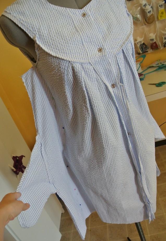 Переделка платья мастер класс