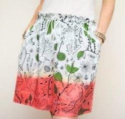 Весенние идеи: шьем сами двухцветную юбку