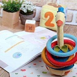 Игрушки своими руками ребенку до года